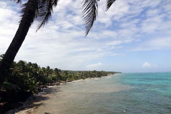 Little Corn Island Strand