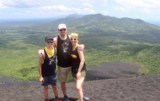 Nicaragua Vulkan Cerro Negro