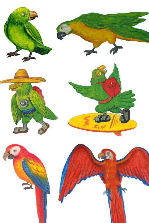 Loro Trips Logo Entstehung