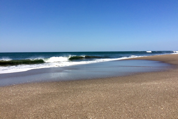 Einsamer Strand in Nicaragua