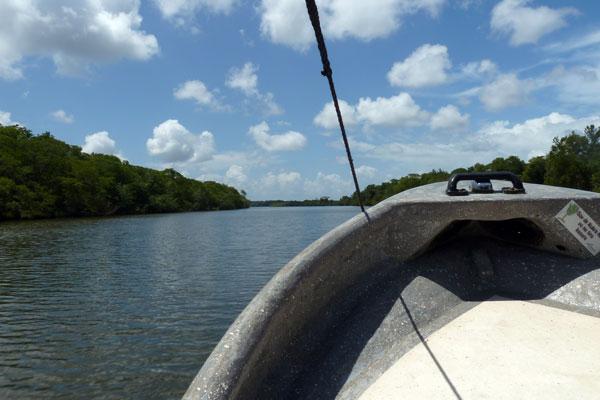 Pearl Lagoon Nicaragua Bootsfahrt
