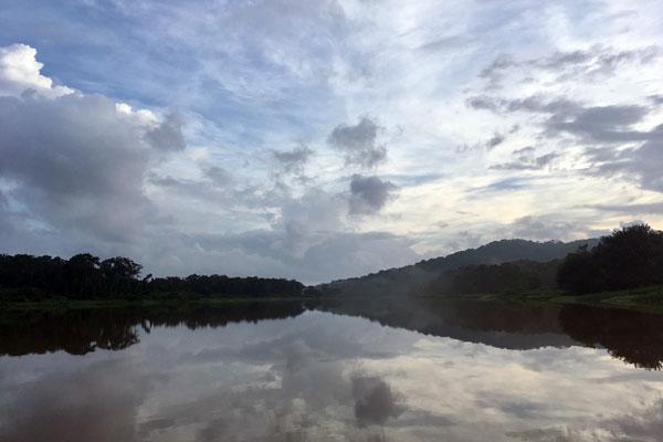 Pearl Lagoon Nicaragua Flussfahrt