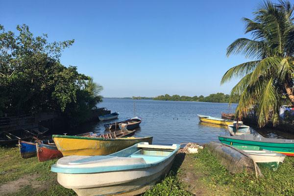 Pearl Lagoon Nicaragua Hafen
