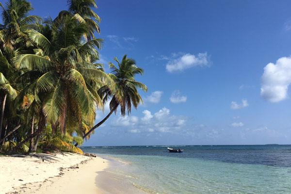 Pearl Lagoon Nicaragua Strand