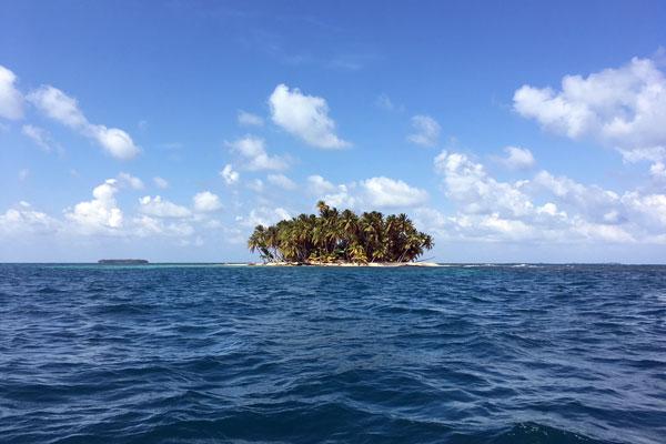 Pearl Lagoon Nicaragua einsame Insel