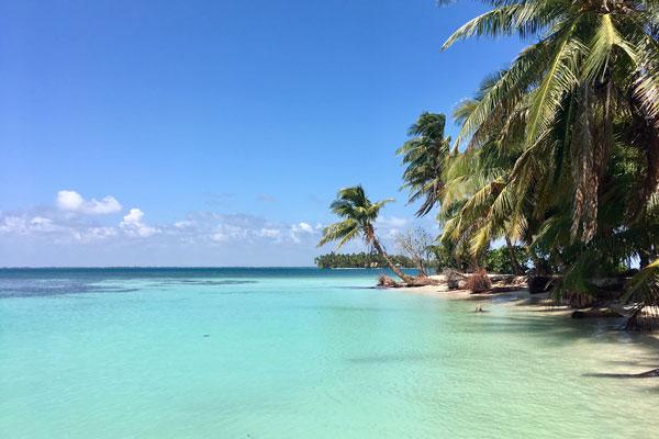 Pearl Lagoon Nicaragua tuerkises Wasser
