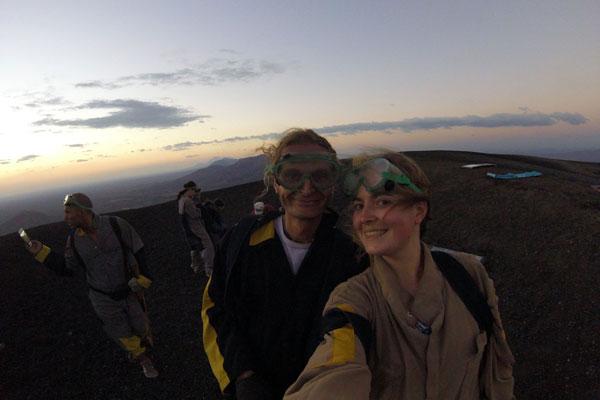 Vulkan Surfen Cerro Negro Bekleidung