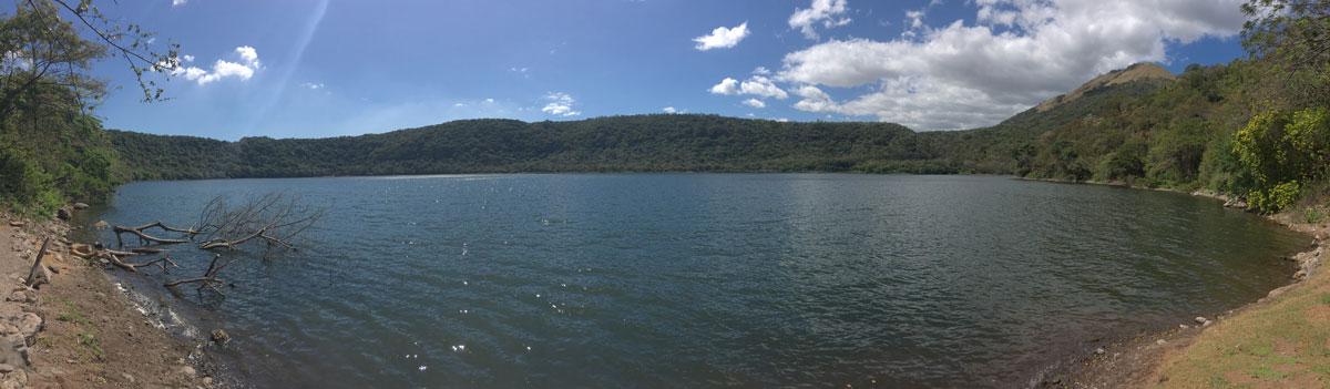 Laguna de Asososca Ueberblick