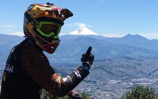 mountain biking ecuador