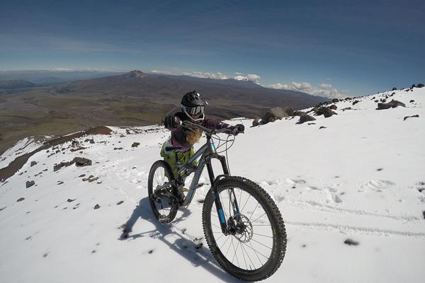 mountain biking ecuador Cotopaxi