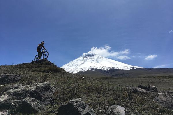mountain biking ecuador downhill